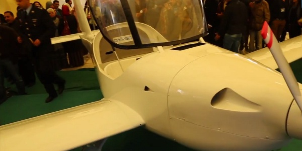First Tunisian Made Airplane Unveiled in Sousse