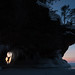 Apostle Islands Ice Cave at Sunset by Bryan Hansel