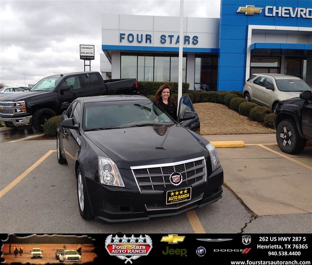 thank you to heidi wright on your new 2009 cadillac cts from scott sanders and everyone at. Black Bedroom Furniture Sets. Home Design Ideas