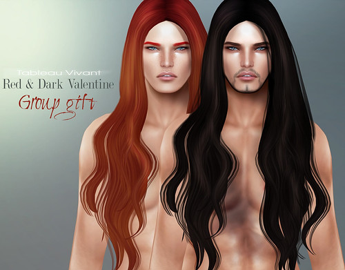 ~Tableau Vivant~ Dark&Red Valentine ~ Group Gift 2014