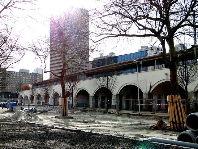 Hofbogen Station Hofplein fase 2 renovatie 1