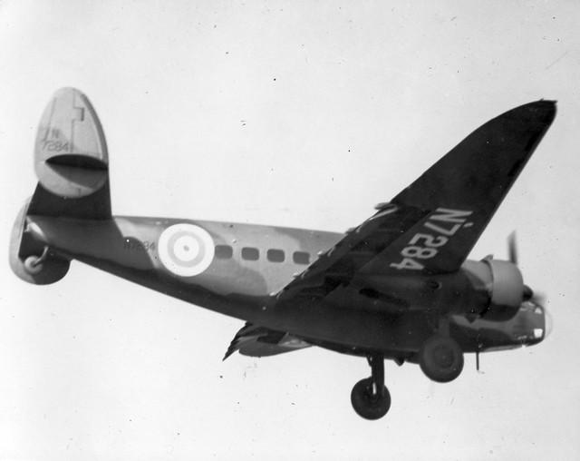 AL61A-147 Lockheed Hudson N7284 Burbank