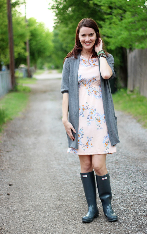 floral-dress-cardigan-wellies-1