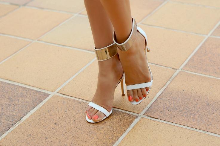 DSC_2317 White Zara strappy heels
