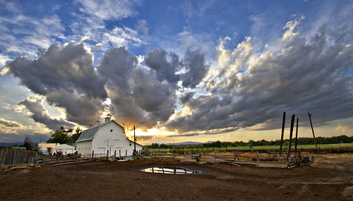 sky clouds rural colorado farming barns co farms rurallife whitebarns