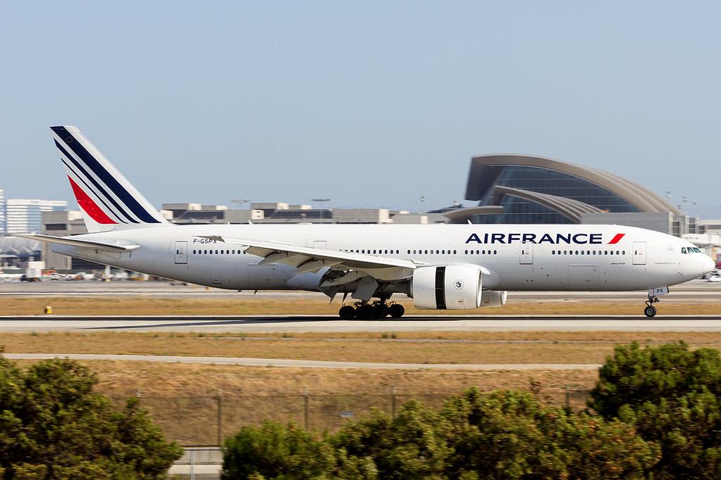 F-GSPX - B772 - Air France