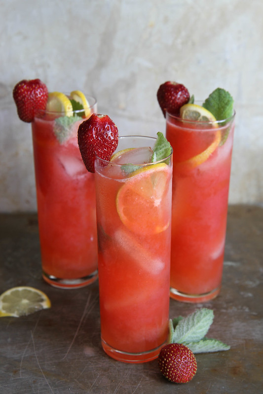 Vodka Strawberry Lemonades