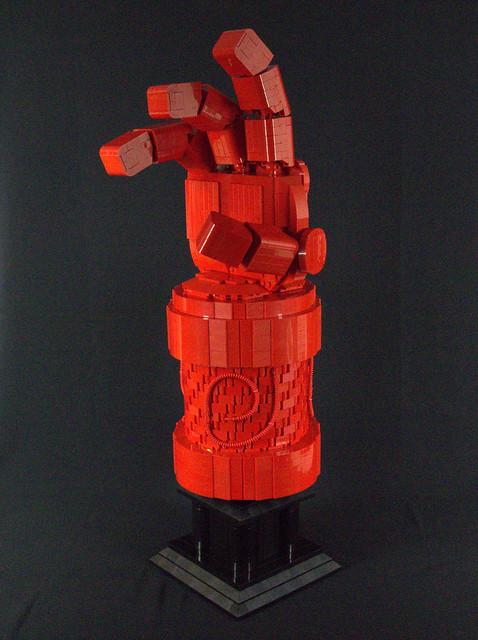 Hellboy's Hand