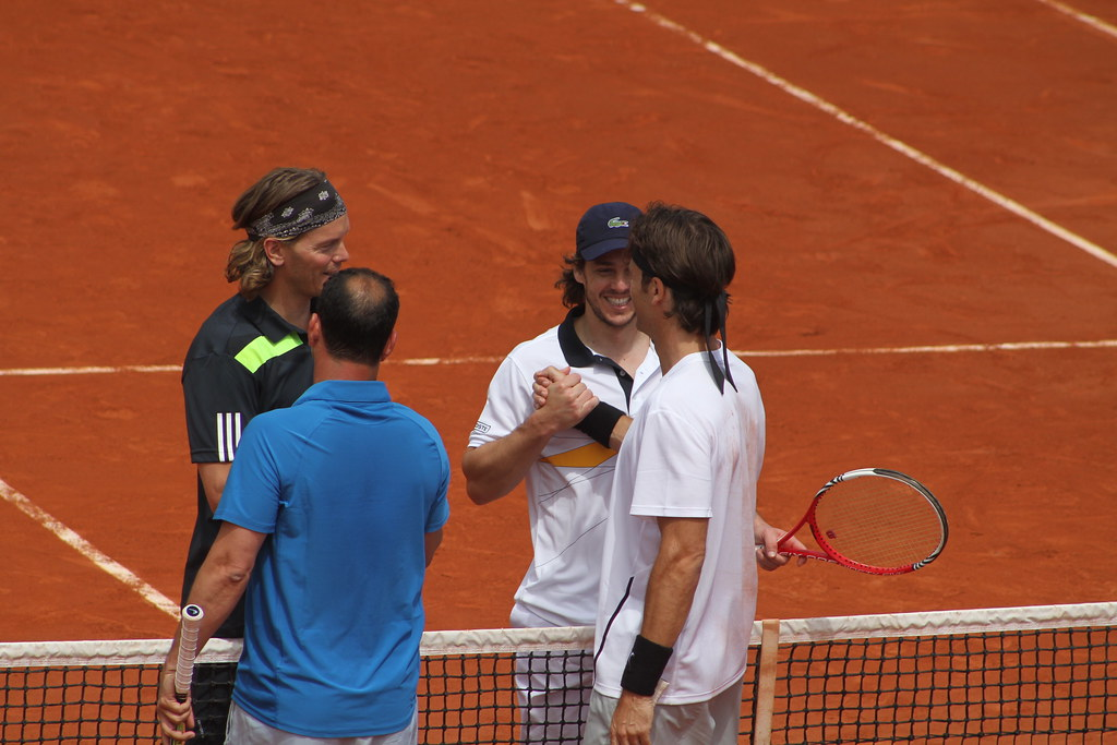 Costa, Enqvist, Gaudio and Moya
