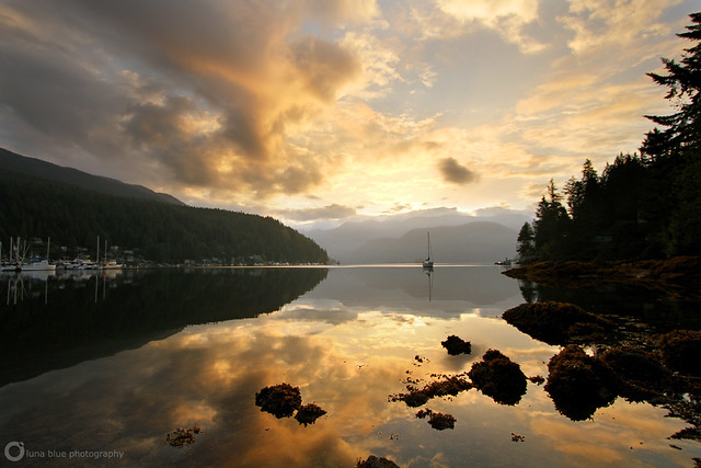 Deep Cove Sunrise