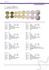 Directory of Circulating Coins - Lesotho