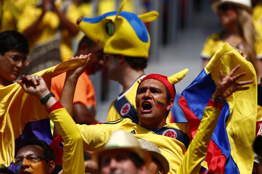 (13)BRASIL-BRASILIA-MUNDIAL 2014-COLOMBIA VS COTE D IVOIRE