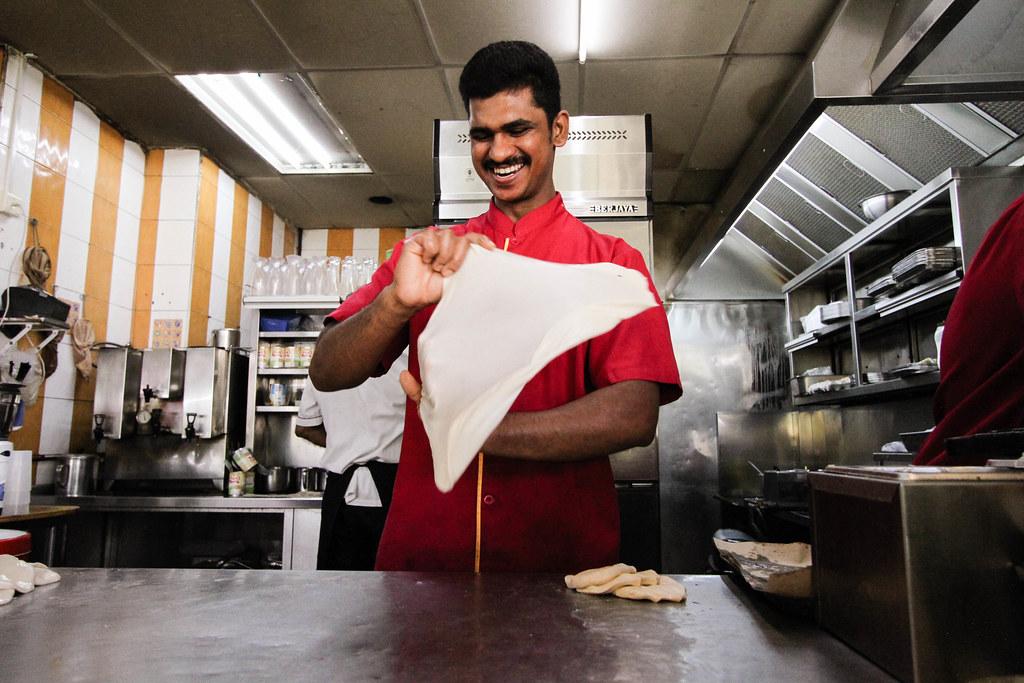 普拉塔餐厅:普拉塔厨师翻转普拉塔
