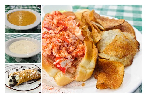 New England Seafood Company Collage