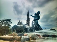 Gefion Fountain.