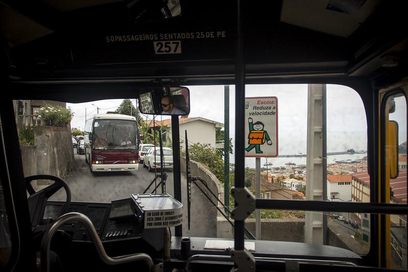 Dangerous roads - Madeira