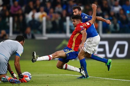 FIFA World Cup 2018 Qualifiers - Italy 1 - 1 Spain - Juventus Stadium, Turin - October 6, 2016