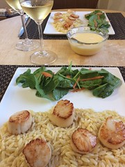 Scallops with White Wine Beurre Blanc & Lemon…