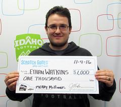 Ethan Watkins - $1,000 Merry Millions