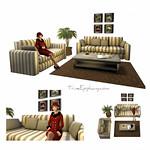 Captain Living Room 3D Models