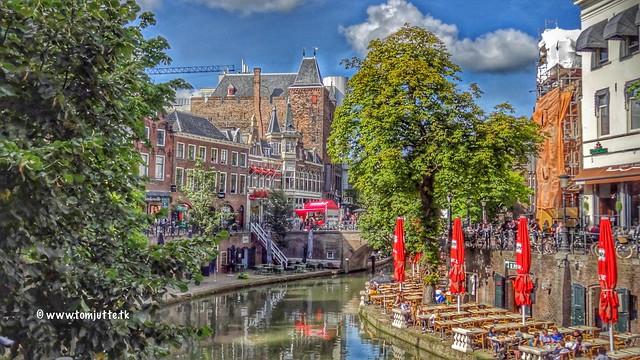 Oudegracht, Utrecht, Netherlands - 4514