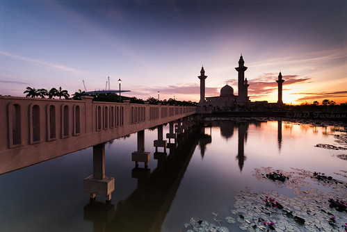 Sunrise at Bukit Jelutong Mosque