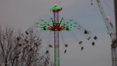 Southbank Centre's Winter Festival - Star Flyer - HD video clip