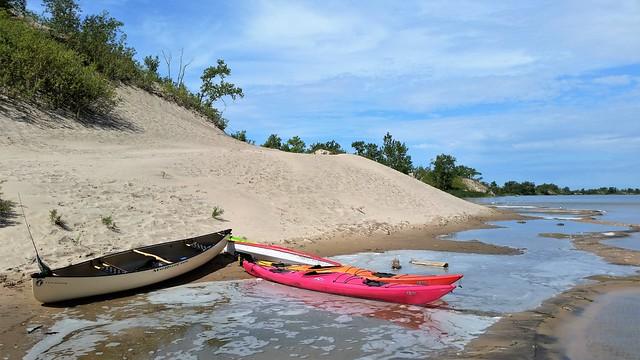 Canot et Kayak Au Bord Du West Lake. 2016-08-17 11:54.35