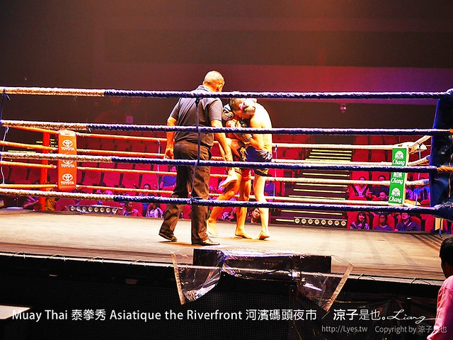 Muay Thai 泰拳秀 Asiatique the Riverfront 河濱碼頭夜市 12
