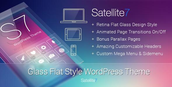 Satellite7 v2.6 - Retina Multi-Purpose WordPress Theme