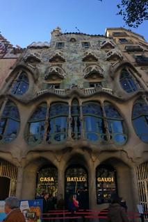 Imagen de Casa Batlló cerca de Distrito del Ensanche. barcelona catalonia catalunya catalonha cataluña kingdom spain reino de españa eixample dreta leixample vila gràcia casa milà la pedrera miracle home passeig batlló dels ossos house bones