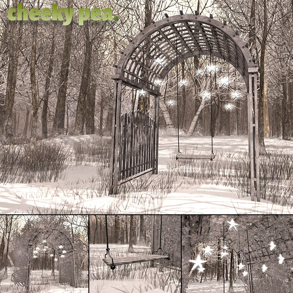 Snowy Arbour for N21 - SecondLifeHub.com