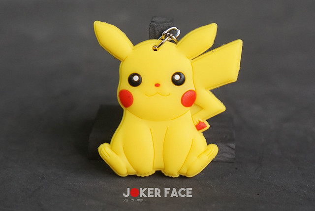 Móc khoá cao su Pikachu - Pokemon