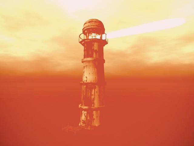 La Digue du Braek - Rusty Lighthouse