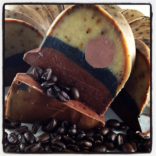 Coffee Cake Soap Cake by The Daily Scrub (June2013)