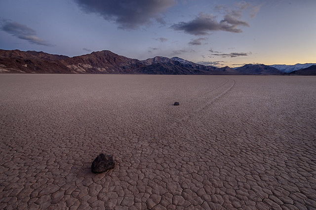 Devil's Racetrack, Death Valley National Park, California