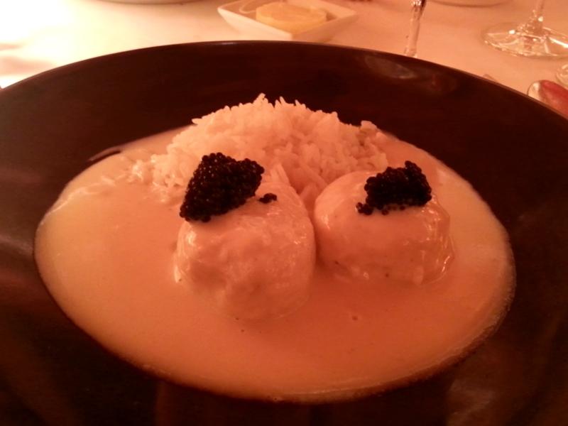 """Les Quenelles de Brochet """"Lyonnaise"""" au Caviar"""