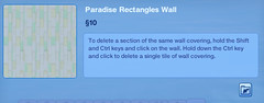 Paradise Rectangles Wall 3