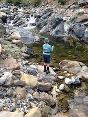 Jerri, Mt. Shasta area creek