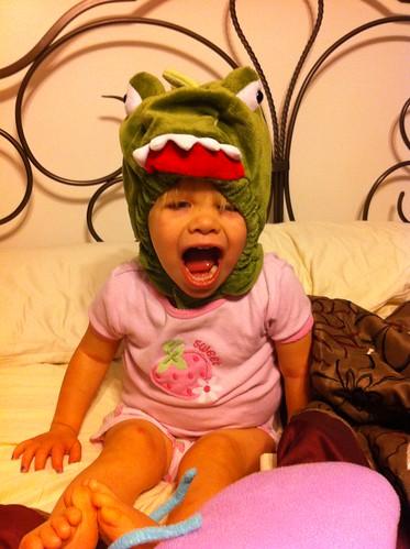 Lucy dinosaur ROOOOARRR!!