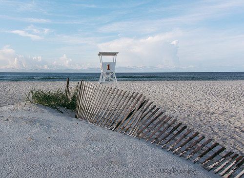 beach fence unitedstates alabama orangebeach lifeguardstand herowinner