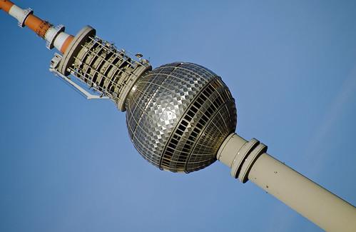 TV-Tower Berlin (sputnik style)