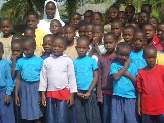 studenti del villaggio