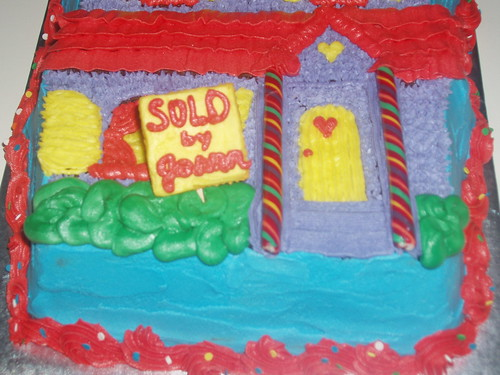 'House for Sale' Cake