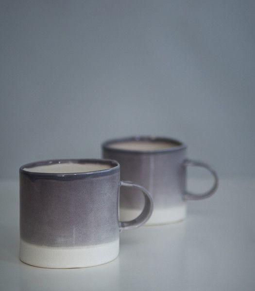 Grey-Mauve mug