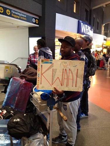 Kwaai-arrival