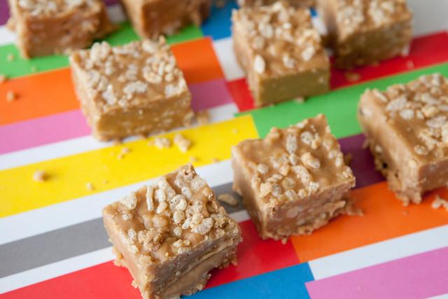 Crispy Peanut Butter FudgeIMG_4449