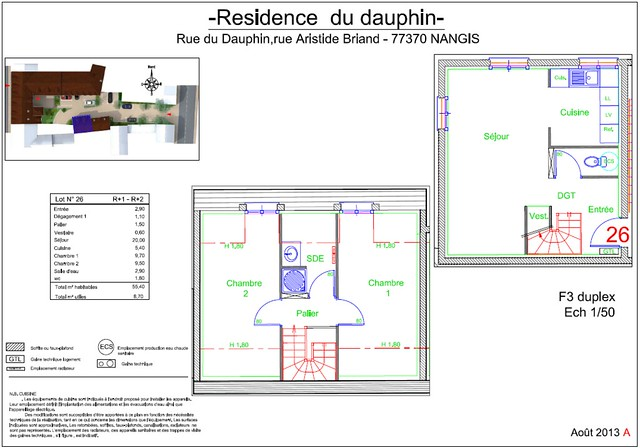Résidence du Dauphin - Plan de vente - Lot n°26