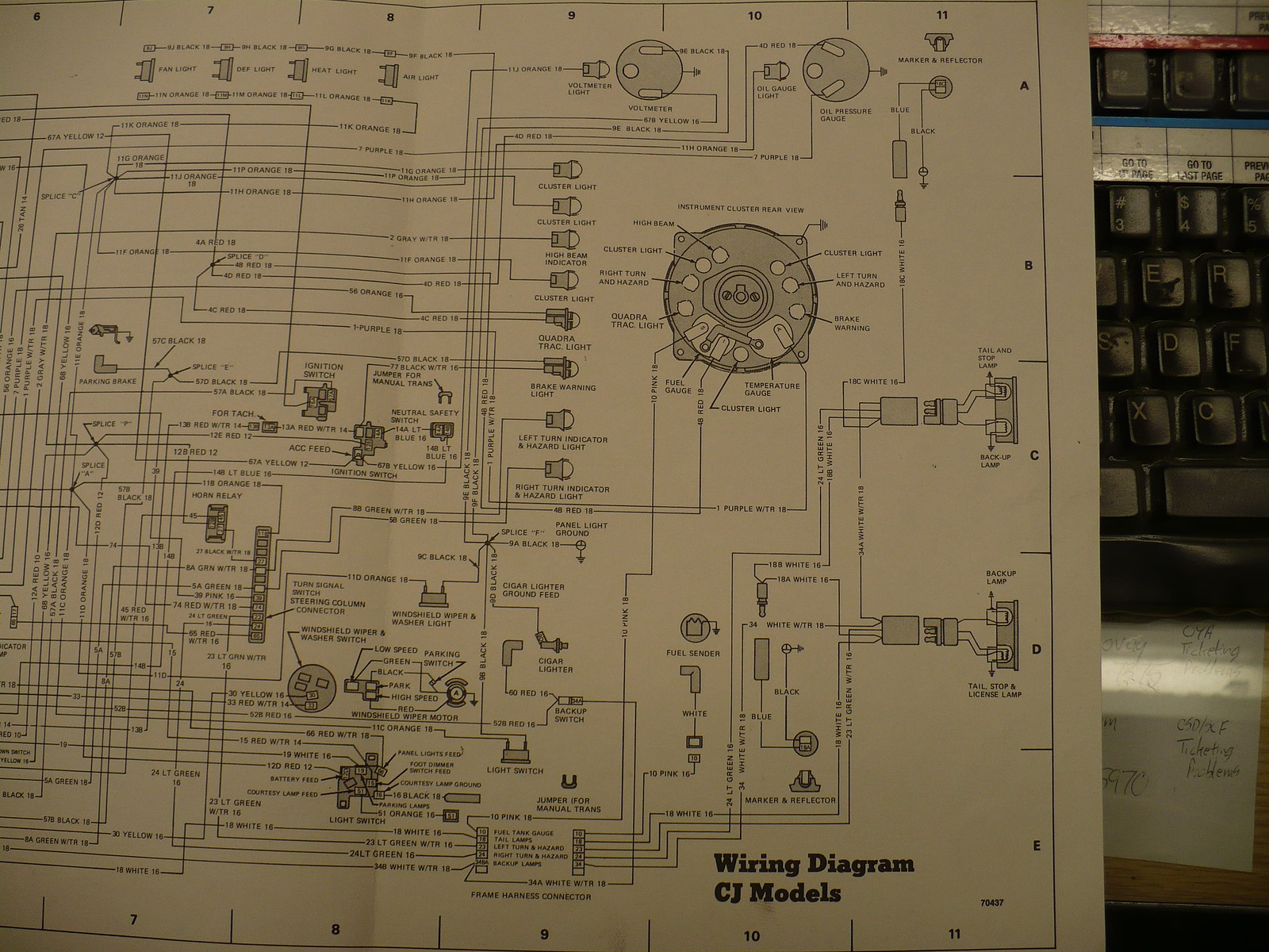 1978 Cj 5 Wiring Diagram Needed