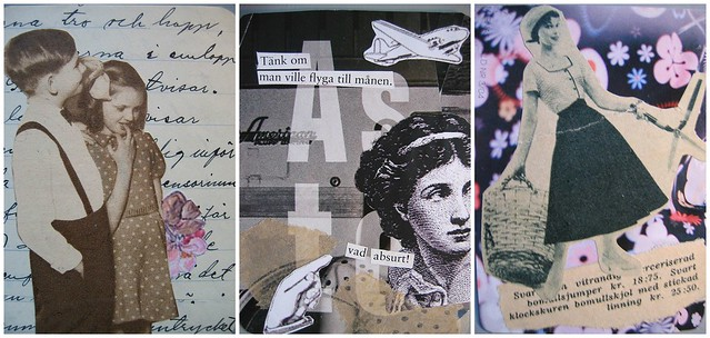 ATC collages